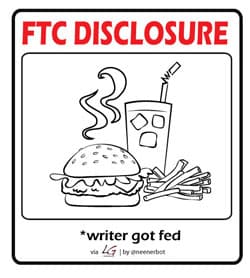 ftc food 250 - Disclosure