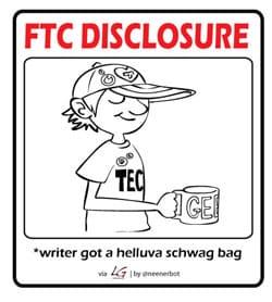ftc schwag 250 - Disclosure
