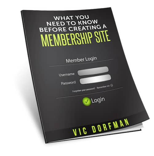 what you need to know 1 - Free Report: What You Need To Know Before Creating A Membership Site
