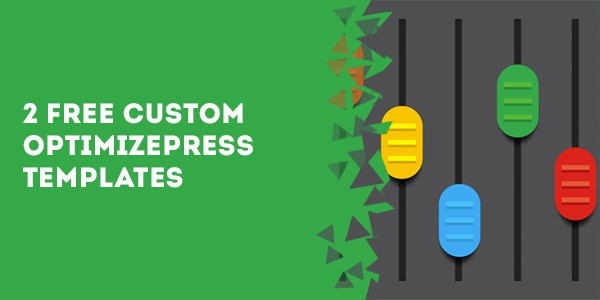 2 free custom optimizepress templates 1 - How To Make Your Header Stick To The Top Of The Page In OptimizePress
