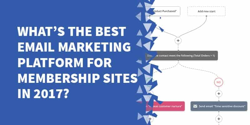 whats the Best Email Marketing Platform for Membership Sites in 2017 - Why Drip is NOT the best email marketing service in 2020