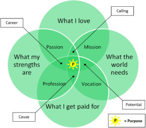 Purpose Venn Diagram 300x264 - How to Create a Membership Website