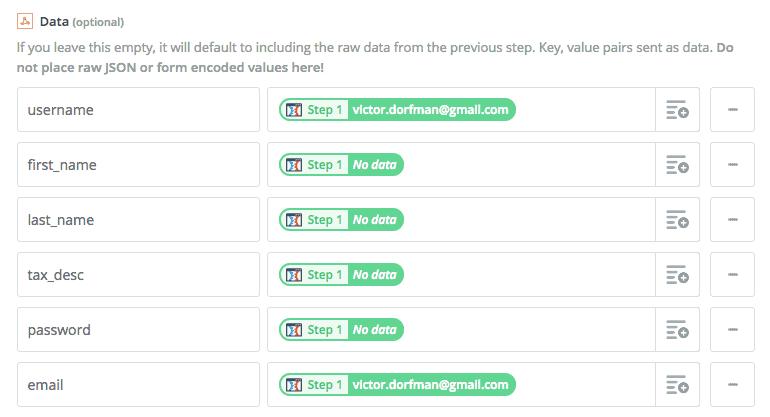 webhook data - How to integrate ThriveCart with MemberPress using Zapier