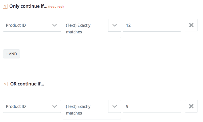 zapier filter step - How to integrate ThriveCart with MemberPress using Zapier