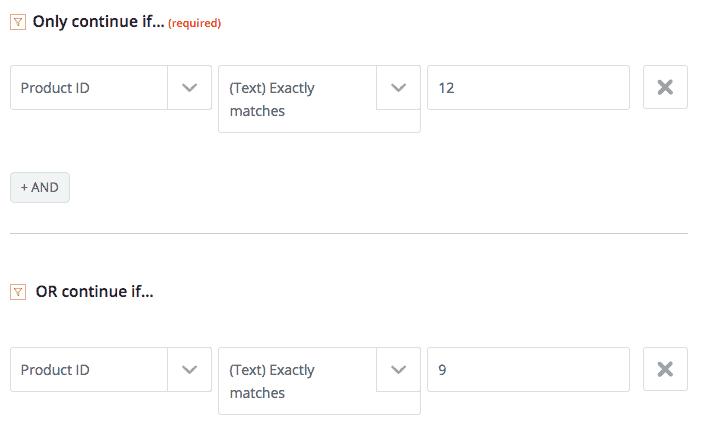 zapier filter step - How to integrate ThriveCart with MemberPress using Zapier