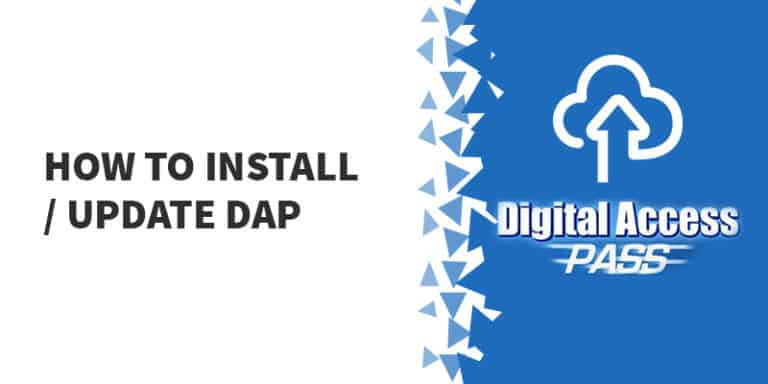 How to Install Update DAP 768x384 - Digital Access Pass Review - Should You Use DAP in 2019?