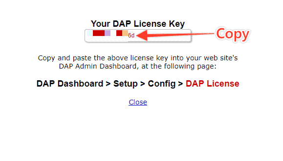 licence - How to Install / Update DAP