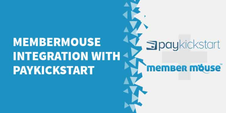 MemberMouse integration with PayKickStart 768x384 - The Best Membership Plugins for WordPress in 2019 (Based on real work with our customers!)