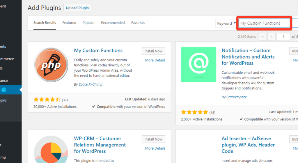 custom functions 1024x560 - Allow product purchase only ONCE in WooCommerce