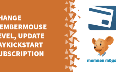 Change MemberMouse level, update PayKickStart subscription