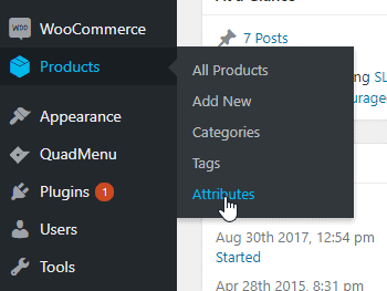 2018 12 14 15 00 43 Dashboard ‹ SLYK — WordPress - Changing WooCommerce default dropdown to colored buttons