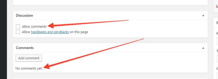 disabledcomments - How to add the SAME comments on multiple posts or pages