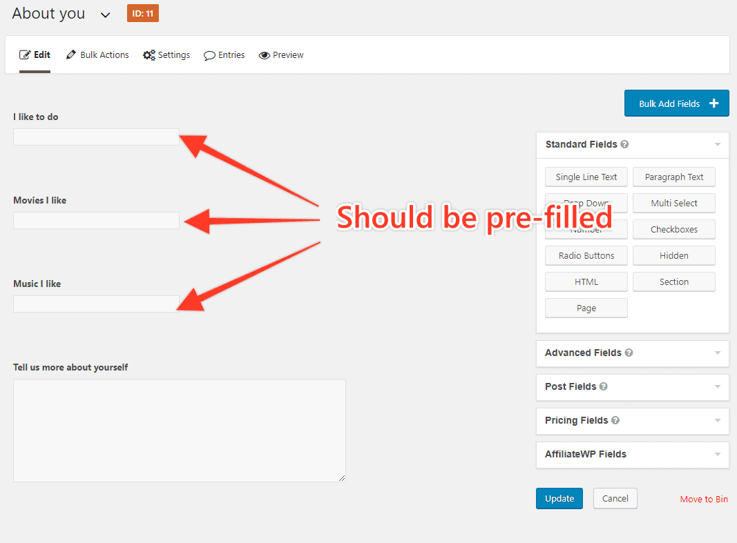 90823900 - How to save and pre-populate fields in GravityForms