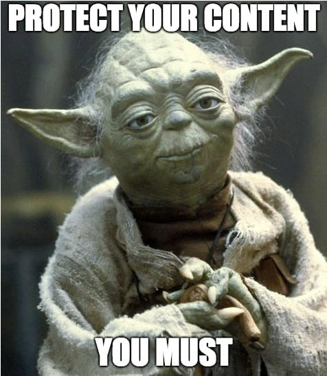 protect content yoda - MemberMouse Review 2020