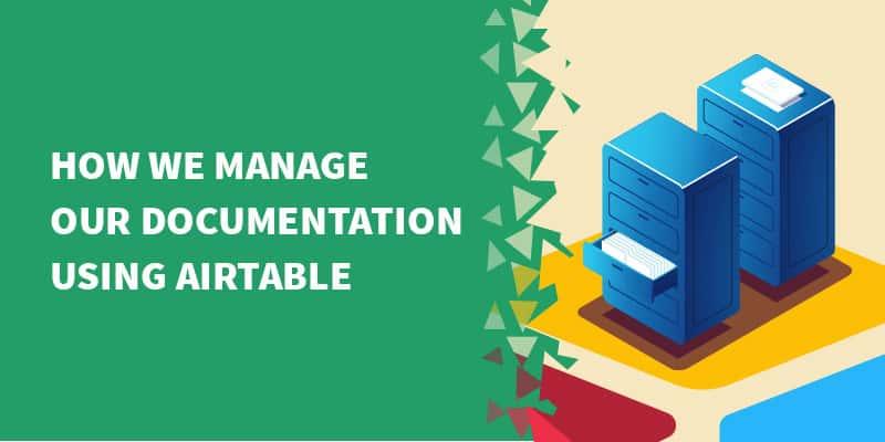 airtable documentation - How we use Airtable as a lightweight CRM.