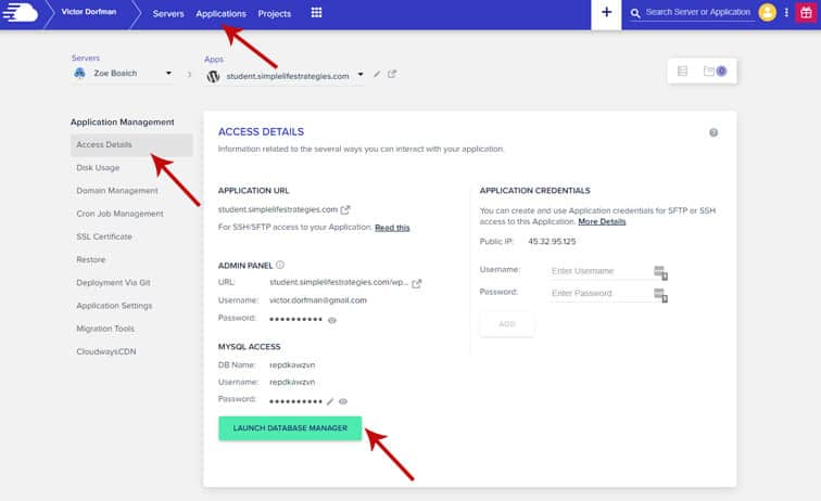 cloudways database manager - How to bulk delete MemberMouse expired members