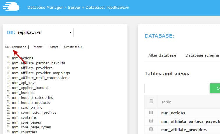 cloudways sql command - How to bulk delete MemberMouse expired members
