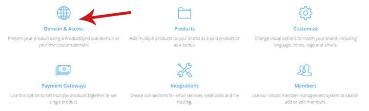 domain and access - How to integrate PayKickstart campaigns with ProductDyno