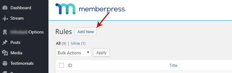memberpress rules - How to create a rolling access window in MemberPress