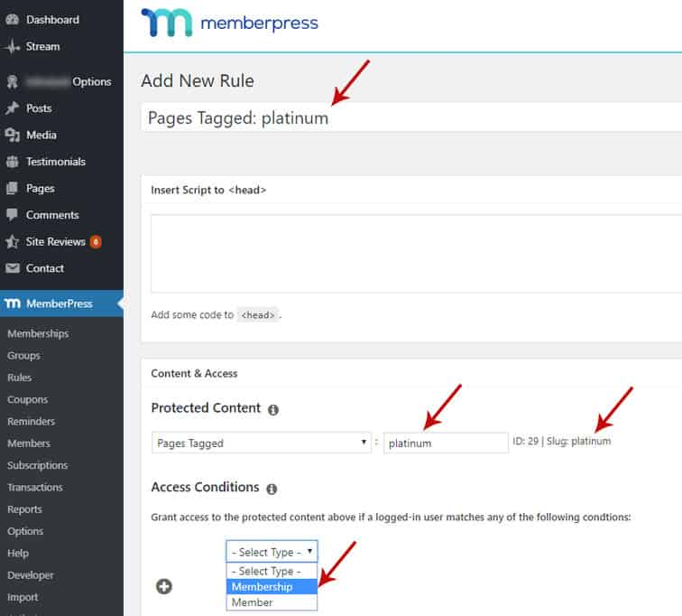 mp rules pages tagged - How to create a rolling access window in MemberPress