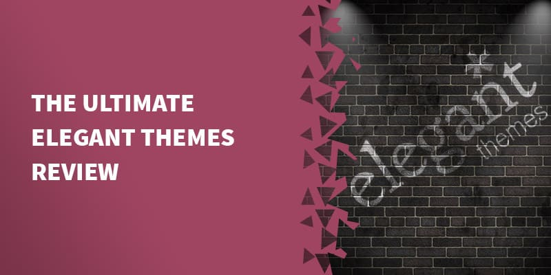 Specification WordPress Themes Elegant Themes