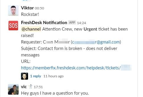 Slack MemberFix 2019 06 15 04.20.40 - Send urgent ticket notifications from FreshDesk to Slack