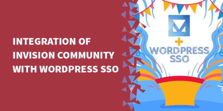 Integration of Invision Community with WordPress SSO