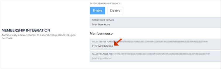 pks free membership level - Auto change membership levels in MemberMouse upon signup