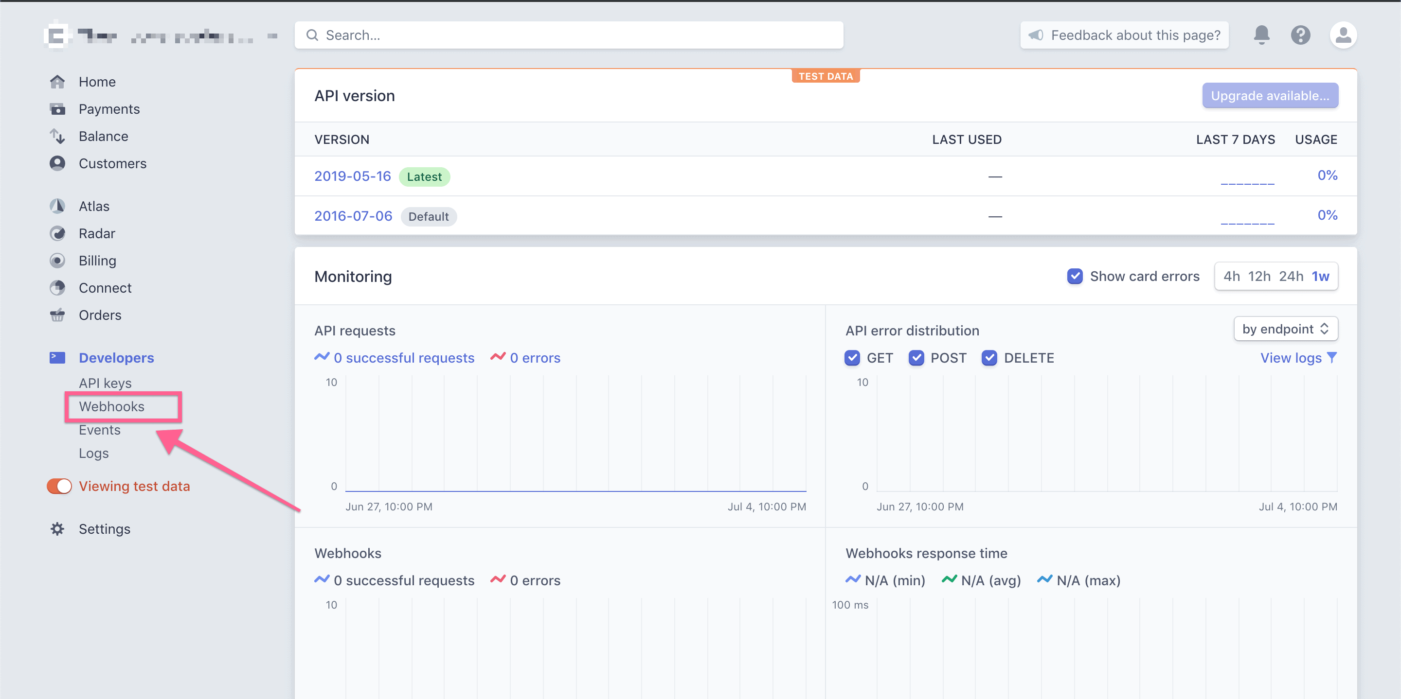 step 2 in Stripe - Removing Teachable access based on Stripe subscriptions