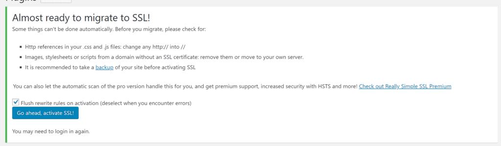 2 13 1024x300 - Really Simple SSL Review