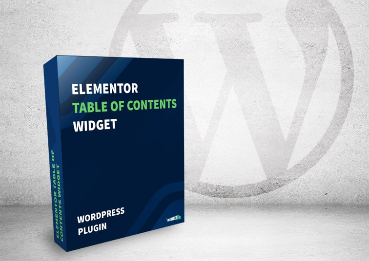 "elementor toc widget box - [WordPress Plugin] Elementor ""Sticky"" Table of Contents Widget"