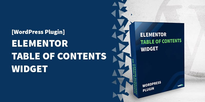"[WordPress Plugin] Elementor ""Sticky"" Table of Contents Widget"