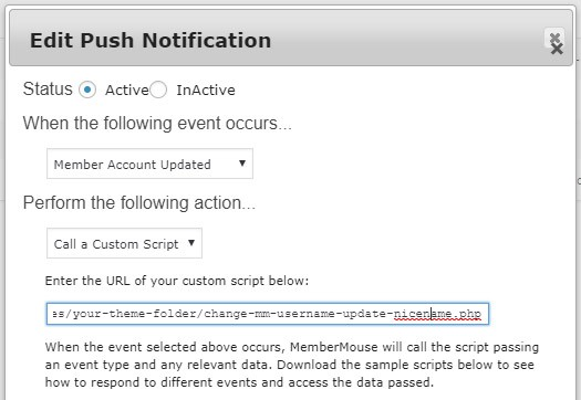 mm push notification - How to integrate MemberMouse with wpForo