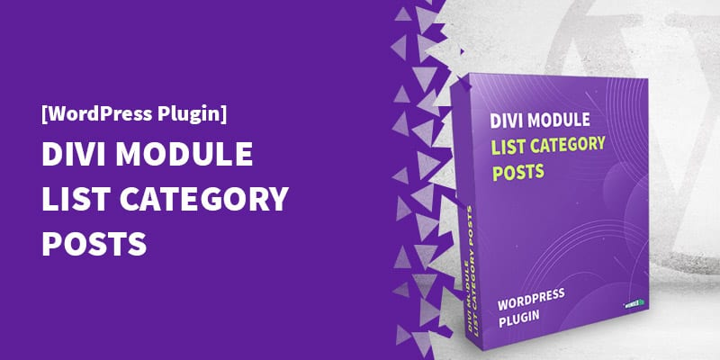 [Divi Module] Display a LIST of Posts From A Category