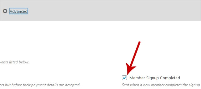 member signup completed - How To Assign A Universal MemberPress Password On Signup