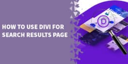 How to use Divi for Search results page 264x132 - How to Replace the Default Footer with a Footer built with Divi Builder