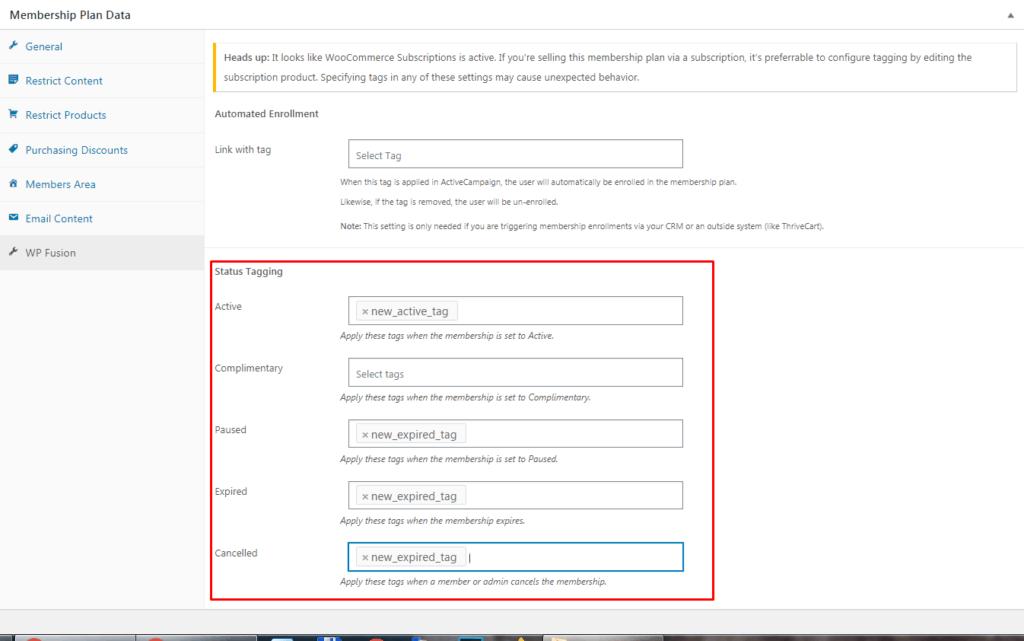 Screenshot 31 1024x641 - How To Update ActiveCampaign Users On WooCommerce Subscription Changes