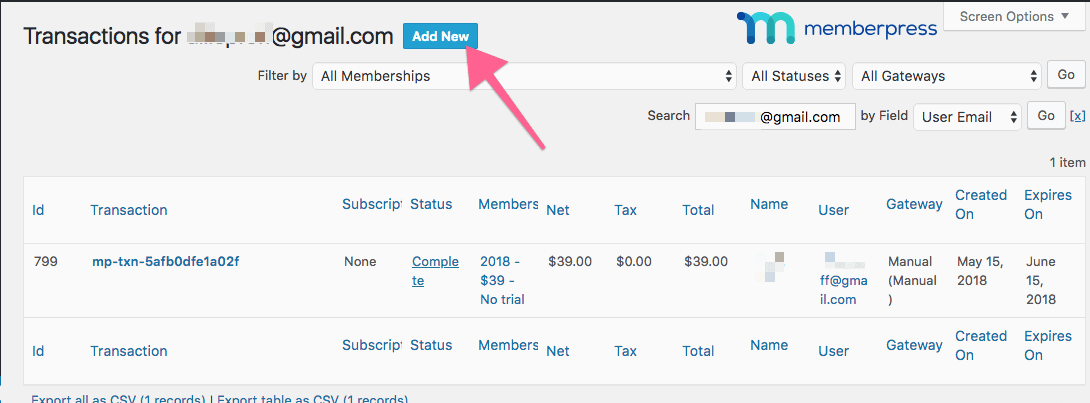 img 5eef317449d2c - How to manually extend access in MemberPress using transactions