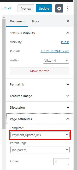 Screenshot 100 - Let MemberPress Members Update Payment Details Without Logging In