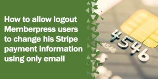 stripe article 320x160 - Our MemberPress review