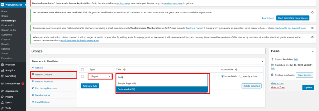 Migrate for MemberPress to WooCommerce 7 1024x358 - How To Migrate Non-Subscription Memberships From MemberPress to WooCommerce
