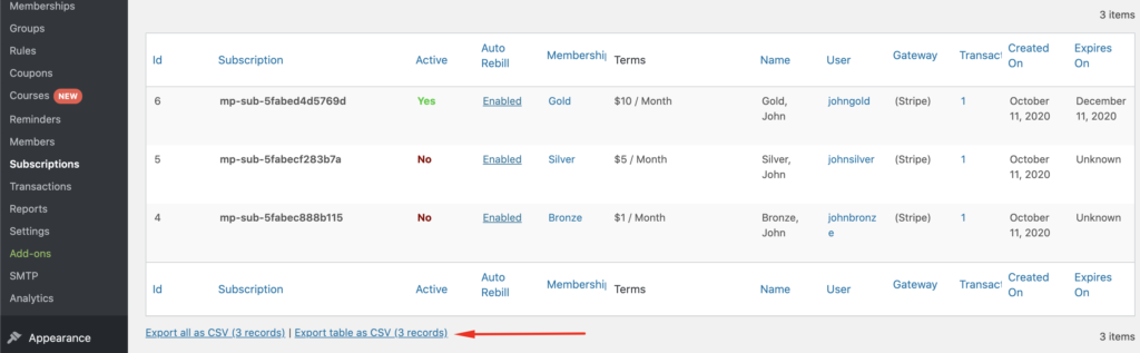 WooSubs 10 1024x317 - How To Migrate Subscription Memberships From MemberPress to WooCommerce
