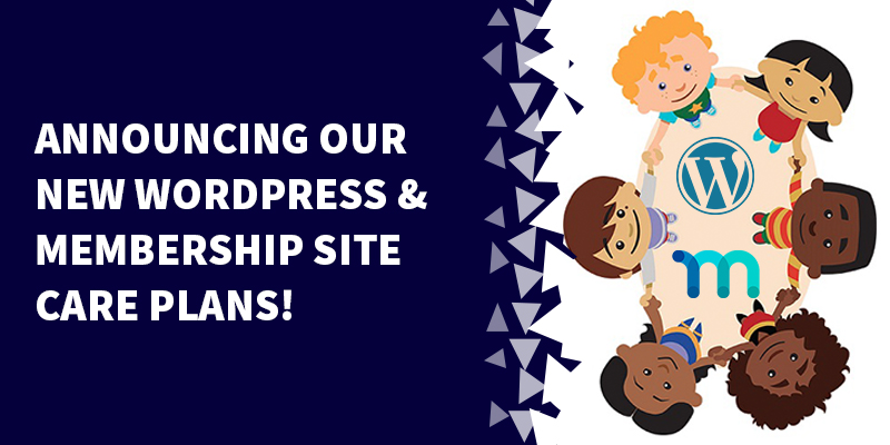 Announcing Our New WordPress & Membership Site Care Plans!