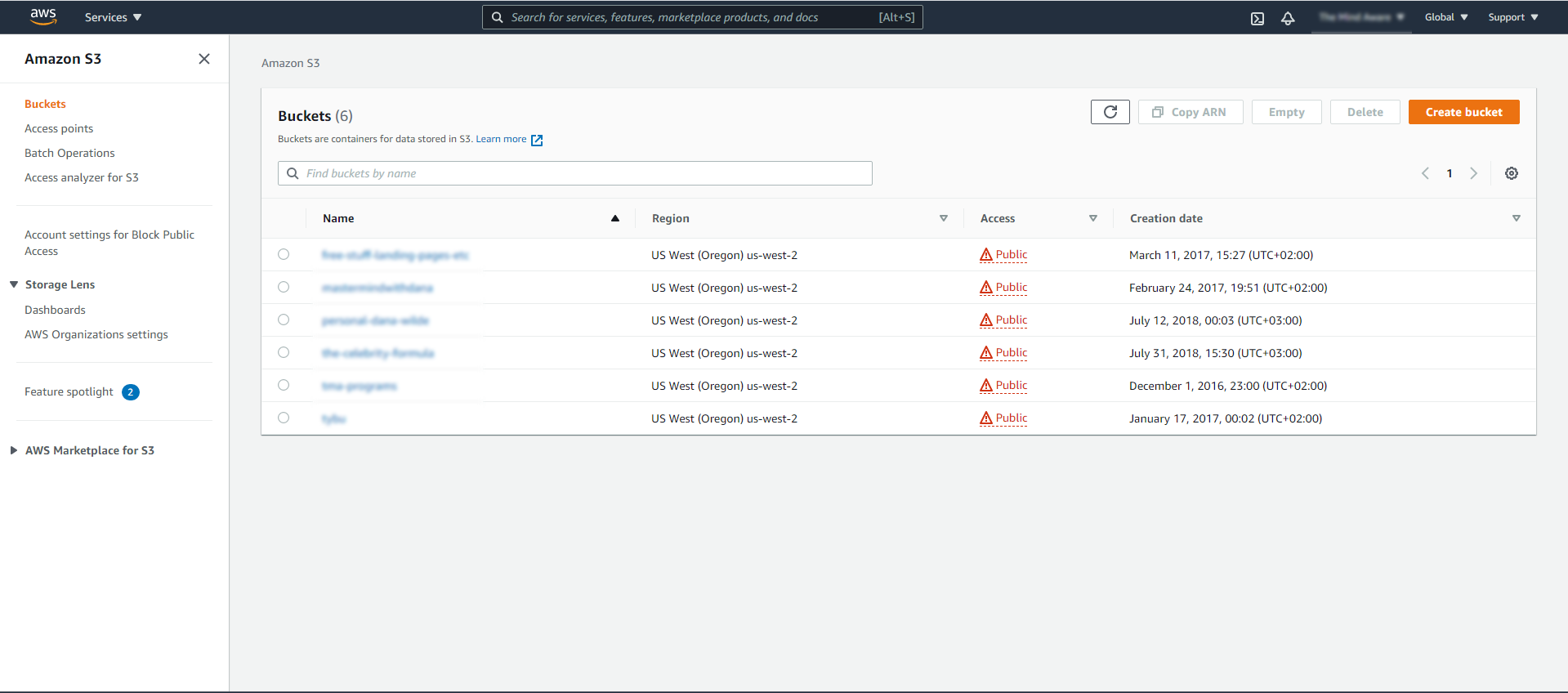 Screenshot 191 - Restricting access to your Amazon S3 to members only without using a plugin