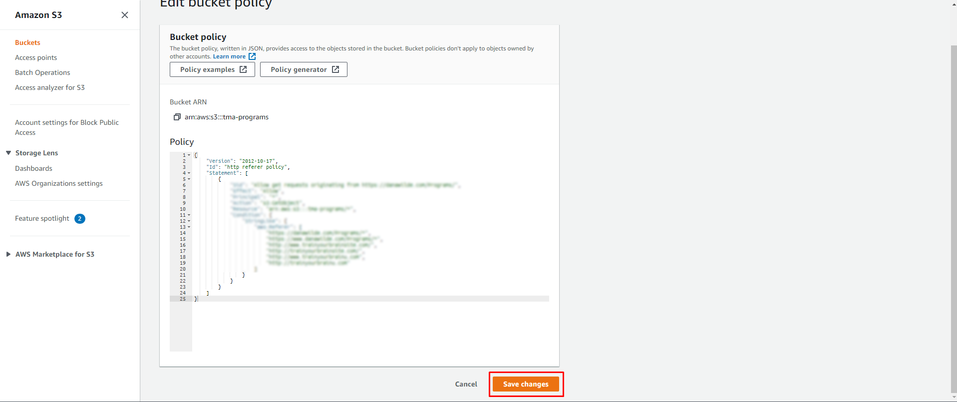 Screenshot 195 - Restricting access to your Amazon S3 to members only without using a plugin