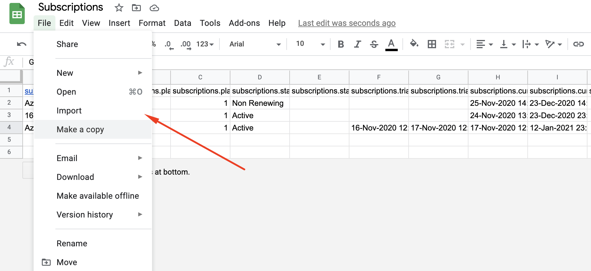 screenshot 4 - Migrating Active Subscriptions from Chargebee to Stripe